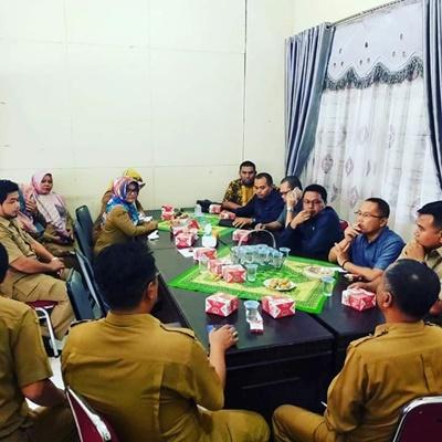 Kunjungan kerja komisi 3 DPRD Lima Puluh Kota ke Dinas Sosial Kabupaten Lima Puluh Kota